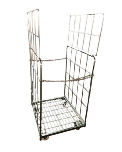 Roll Cage Trolley with Chain