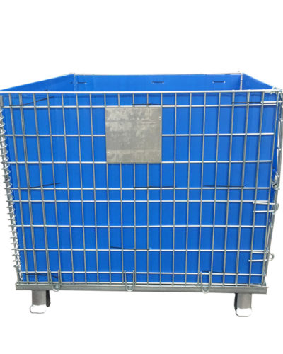 Wire Container with Sheet