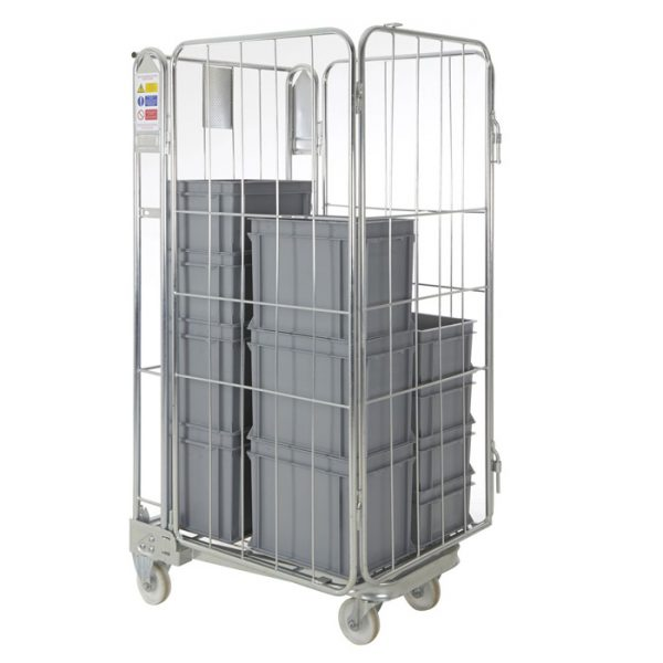 4-Sided Warehouse Roll Cage
