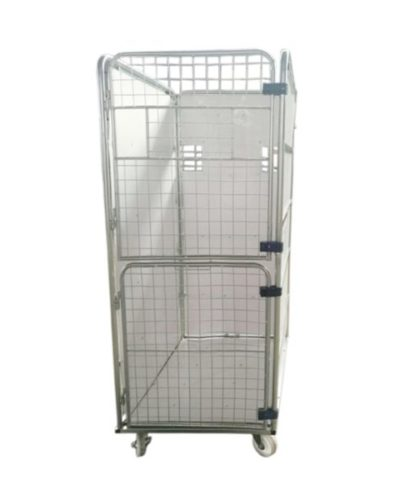 Double Gate Laundry Cage