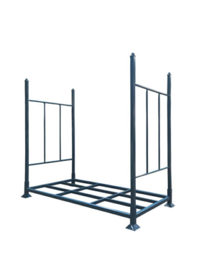 Laced warehouse tire rack 1