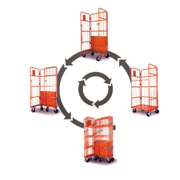 Roll Pallet Container