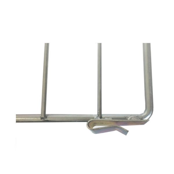 Snap-in wire divider