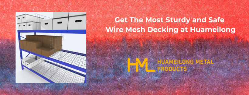 Wire Mesh Decking HML Products